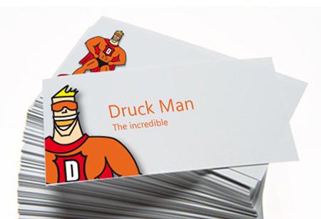 Guenstig Visitenkarten Drucken Beim Druckman Ch Die Online